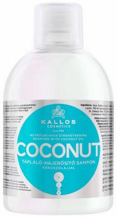 Kallos Coconut szampon wzmacniający do włosów osłabionych 1000 ml