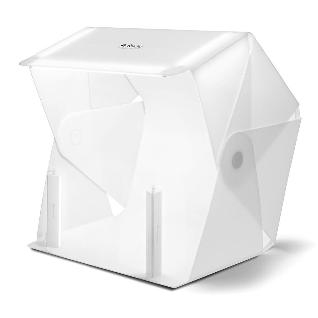 Mobilne studio bezcieniowe OrangeMonkie Foldio 3 + oświetlenie Halo bar