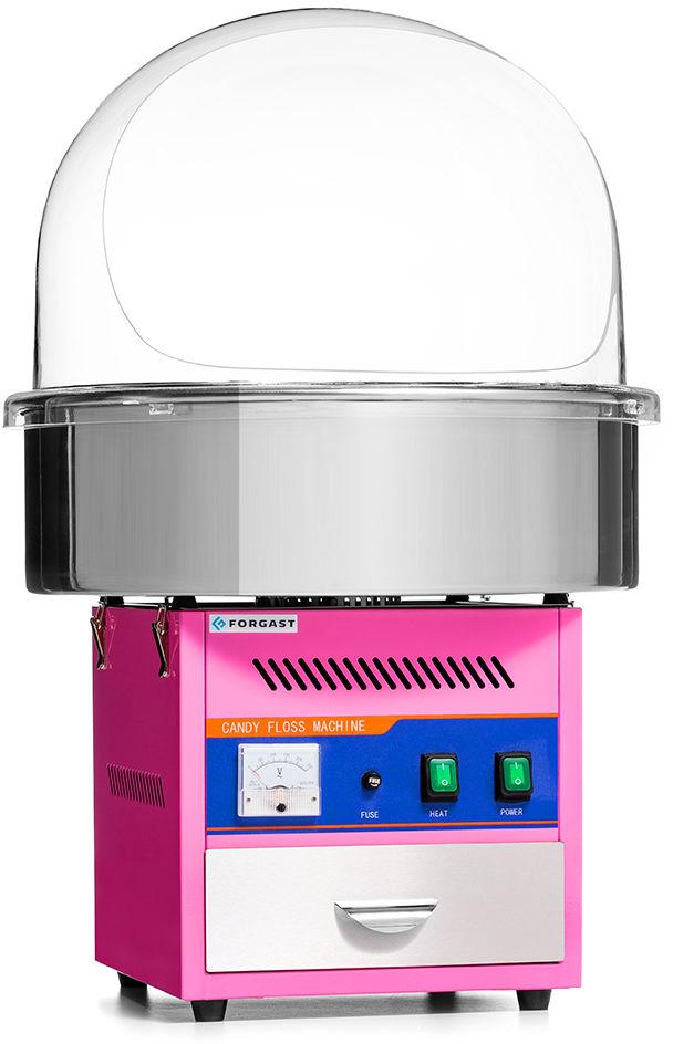 Maszyna do waty cukrowej z pokrywą