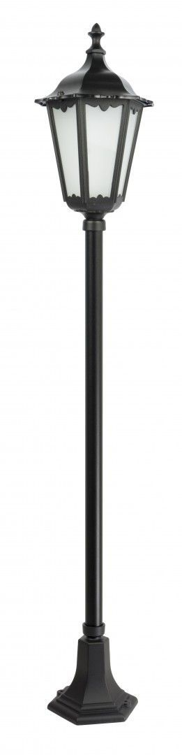 SU-MA Retro Classic K 5002/1 lampa stojąca czarna E27 IP43 164cm