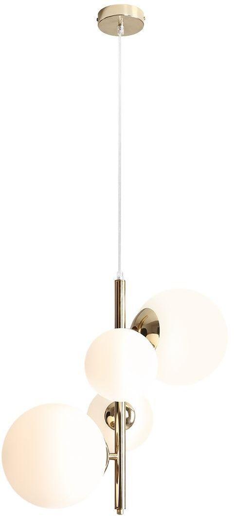 Lampa wisząca glamour złota Bloom 1091L30 szklane klosze kule - Aldex // Rabaty w koszyku i darmowa dostawa od 299zł !