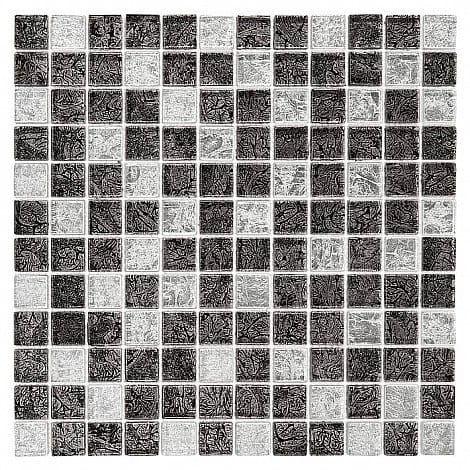 DUNIN Spark mozaika szklana Carbon mix 23