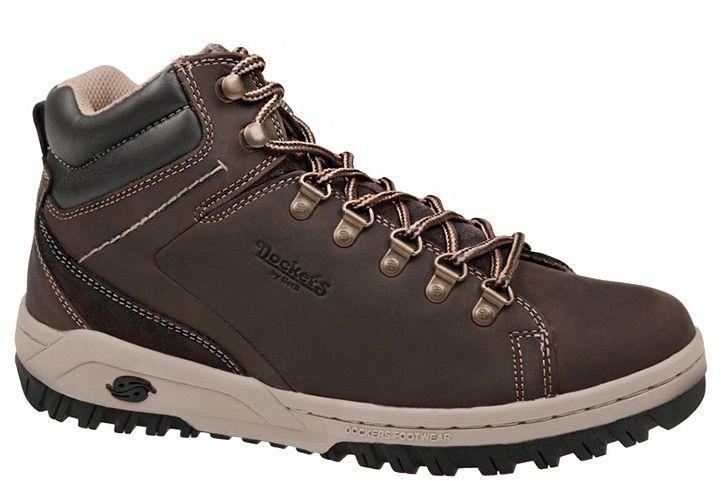 Trzewiki DOCKERS by Gerli 331541-007010 Chocolate Brązowe trekkingowe
