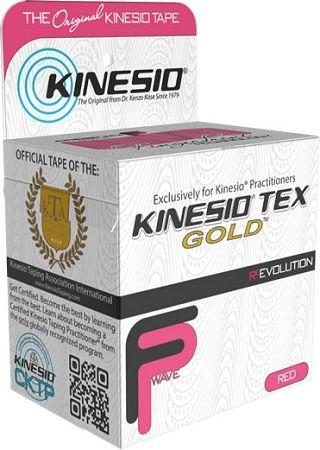 Kinesio Tex Gold 5cm x 5m RÓŻOWY (Finger Print)