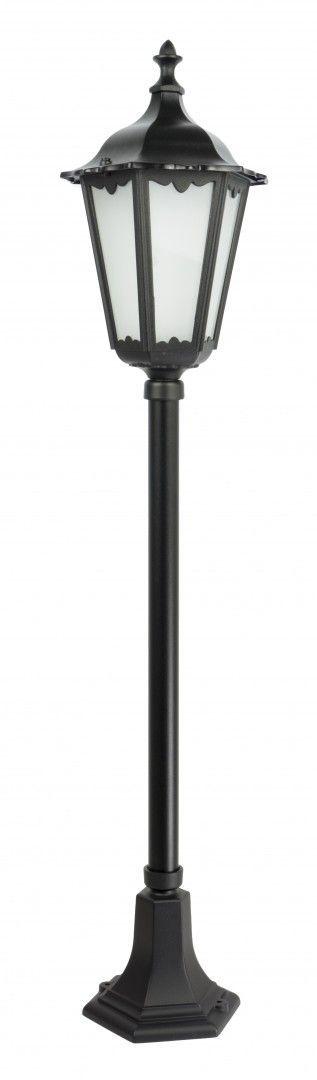 SU-MA Retro Classic K 5002/2 lampa stojąca czarna E27 IP43 114cm