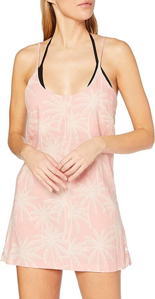 Hurley Damska sukienka plażowa, z brązu różowy Kamień Mauve m