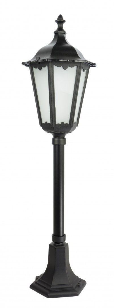 SU-MA Retro Classic K 5002/3 lampa stojąca czarna E27 IP43 84cm