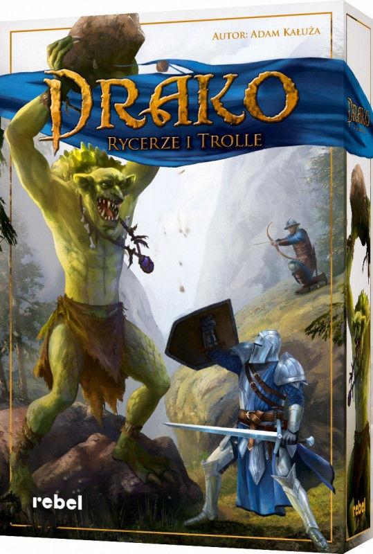 Gra Drako Rycerze i Trolle