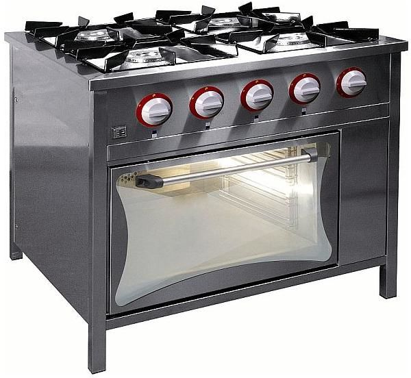 Kuchnia gazowa 4-palnikowa z piekarnikiem gaz. EGAZ TG-425/PG-1