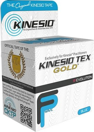 Kinesio Tex Gold 5cm x 5m NIEBIESKI (Finger Print)