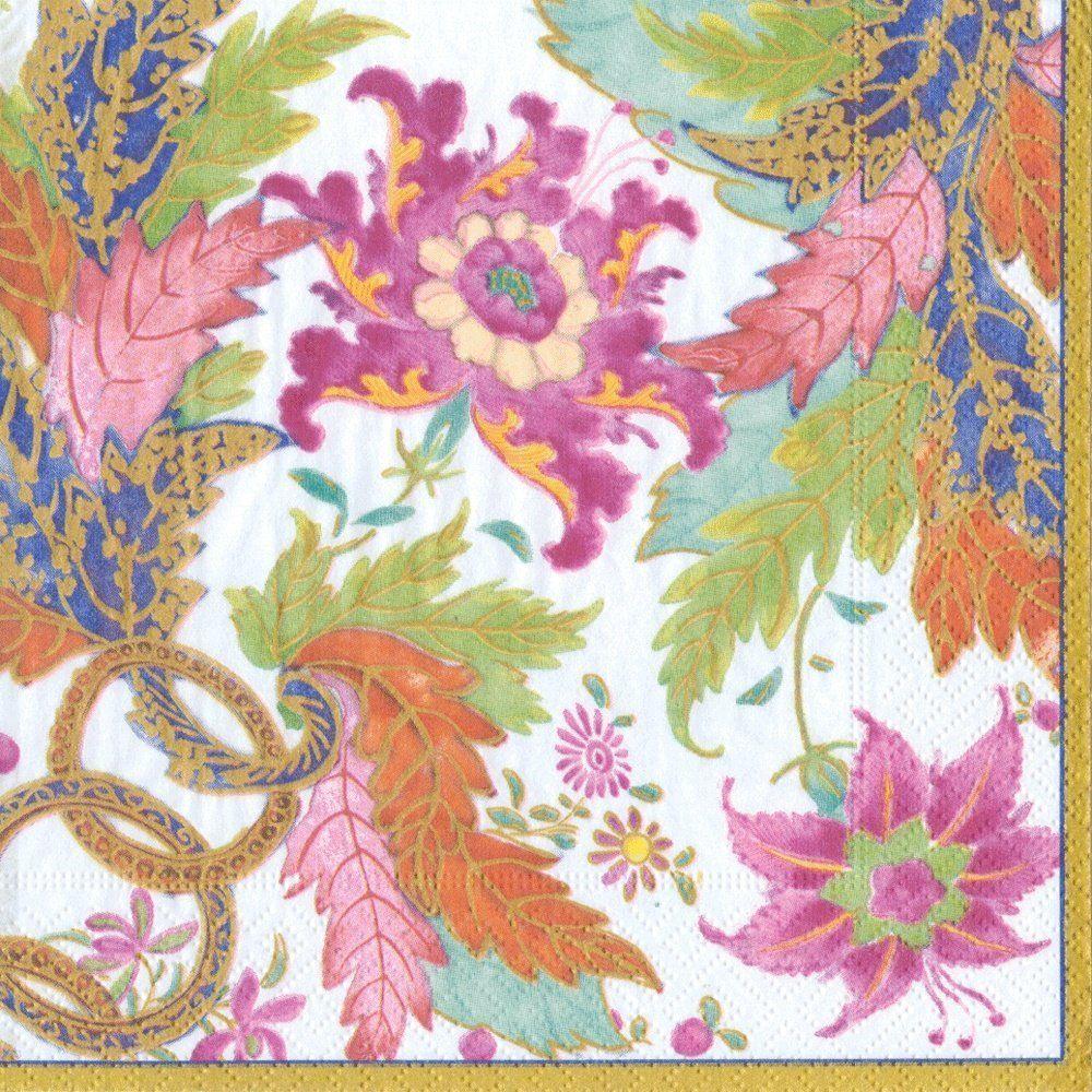 Caspari papierowy papier na wieczór panieński, wesele, przyjęcie urodzinowe, liść Tobacco, Pk 20