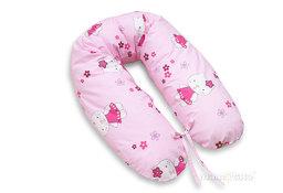 MAMO-TATO Poduszka dla ciężarnych kobiet Kotki różowe
