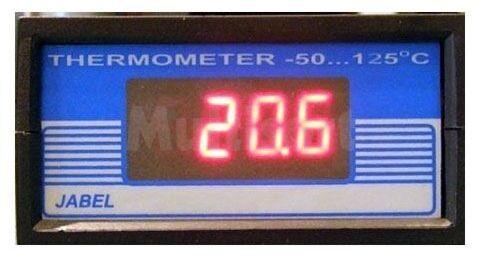 Termometr cyfrowy -50 C do +125 C (do montażu)