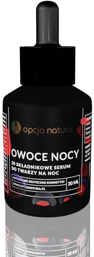 Opcja.natura Owoce Nocy Serum do Twarzy na Noc 30 ml