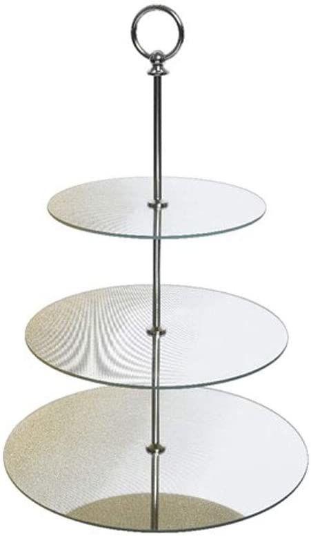 Decoris APL4063251 półmisek szklany, wielokolorowy, 30 x 30 cm