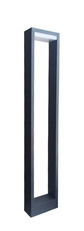 Lampa stojąca ogrodowa Form LED YB19502 Ciemny popiel IP54 - Su-ma Do -17% rabatu w koszyku i darmowa dostawa od 299zł !