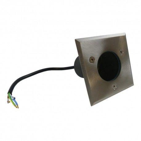 Oprawa najazdowa GU10 10W IP67 inox oprawa do kostki lampa ogrodowa gruntowa bez żarówki ON-ALFAKGU10-06-MINI GTV 9896