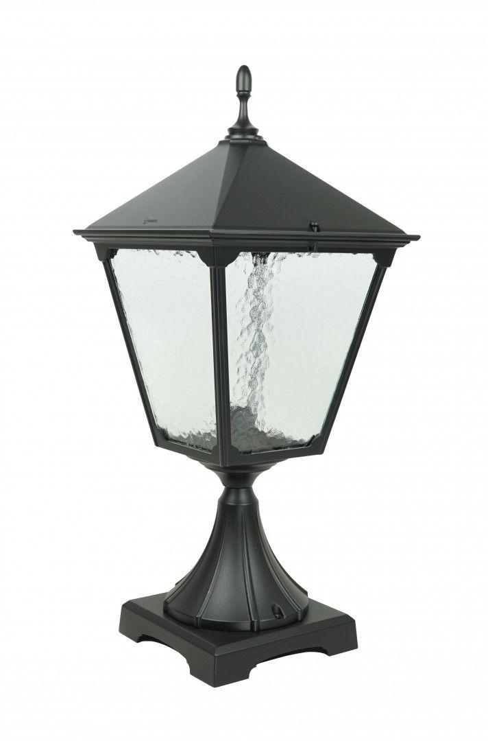 SU-MA Retro Kwadratowe K 4011/1/BD KW lampa stojąca czarna E27 IP43 74cm
