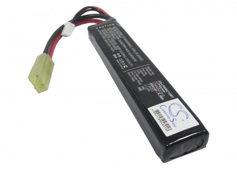 850mAh 6.29Wh Li-Polymer 7.4V 2S 15C Mini Tamiya (Cameron Sino)