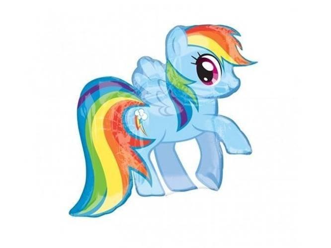 Balon foliowy My Little Pony - 71 x 68 cm - 1 szt.