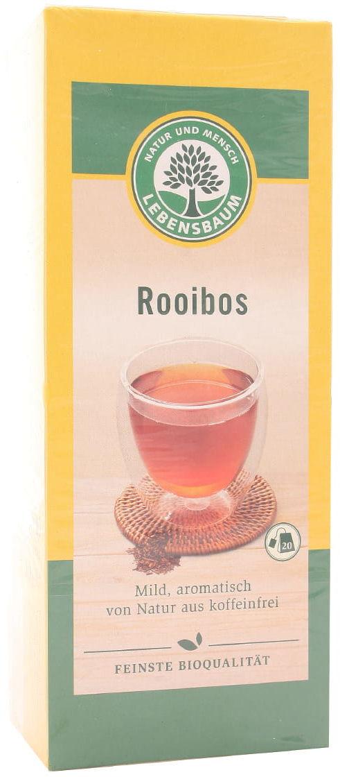 Herbata Rooibos ekspresowa BIO - Lebensbaum - 20 saszetek