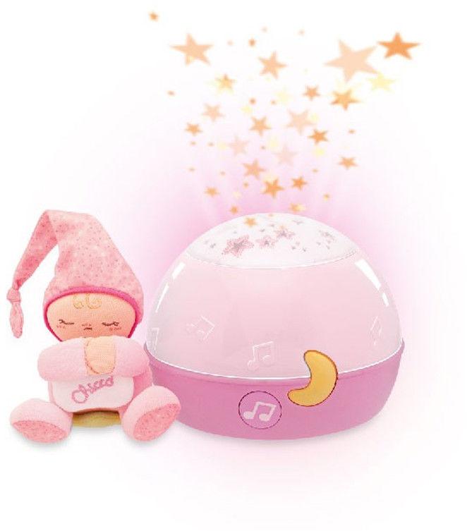 Chicco zabawki 059633 projektor gwiazdek różowy