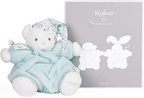 Kaloo K969986 Plum-Patapouf miękka zabawka niedźwiedź morski - 25 cm, wodna zieleń