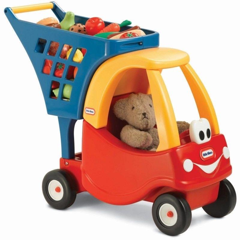 Wózek na zakupy Cozy Coupe dla dzieci Little Tikes