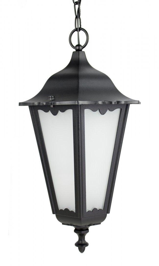 SU-MA Retro Maxi K 1018/1/BD lampa wisząca czarna IP43