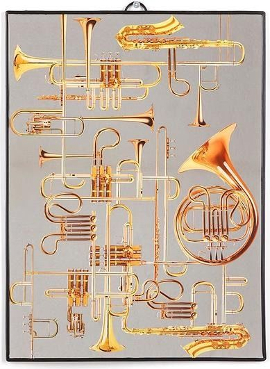 Lustro seletti wears toiletpaper trumpets duże