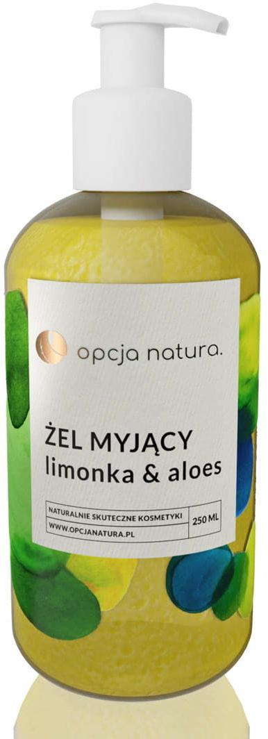 Opcja.natura Żel Myjący Limonka & Aloes 250 ml