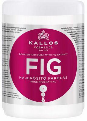 Kallos Fig maska wzmacniająca włosy cienkie 1000 ml
