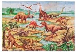 Puzzle podłogowe dinozaury 48el.