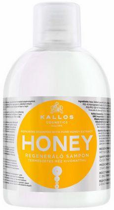 Kallos Honey regenerujący szampon do włosów zniszczonych 1000 ml