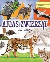 Atlas zwierząt ZAKŁADKA DO KSIĄŻEK GRATIS DO KAŻDEGO ZAMÓWIENIA