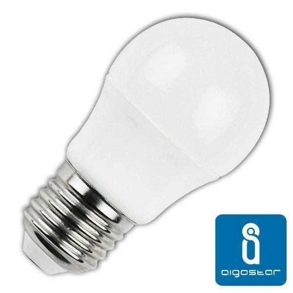 Żarówka LED E27 7W ciepła 3000K kulka G45