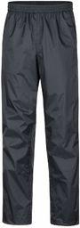 Marmot męskie Precip Eco Pant Hardshell Spodnie przeciwdeszczowe, wodoodporne spodnie, wiatroszczelne, oddychające Czarny L
