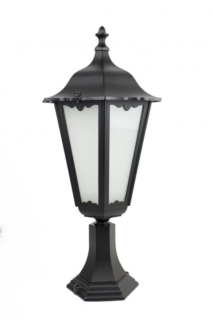 SU-MA Retro Maxi K 4011/1 BD lampa stojąca czarna E27 IP43 65cm