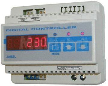 Licznik impulsów dwu-wejściowy (obudowa na szynę DIN) (do montażu)