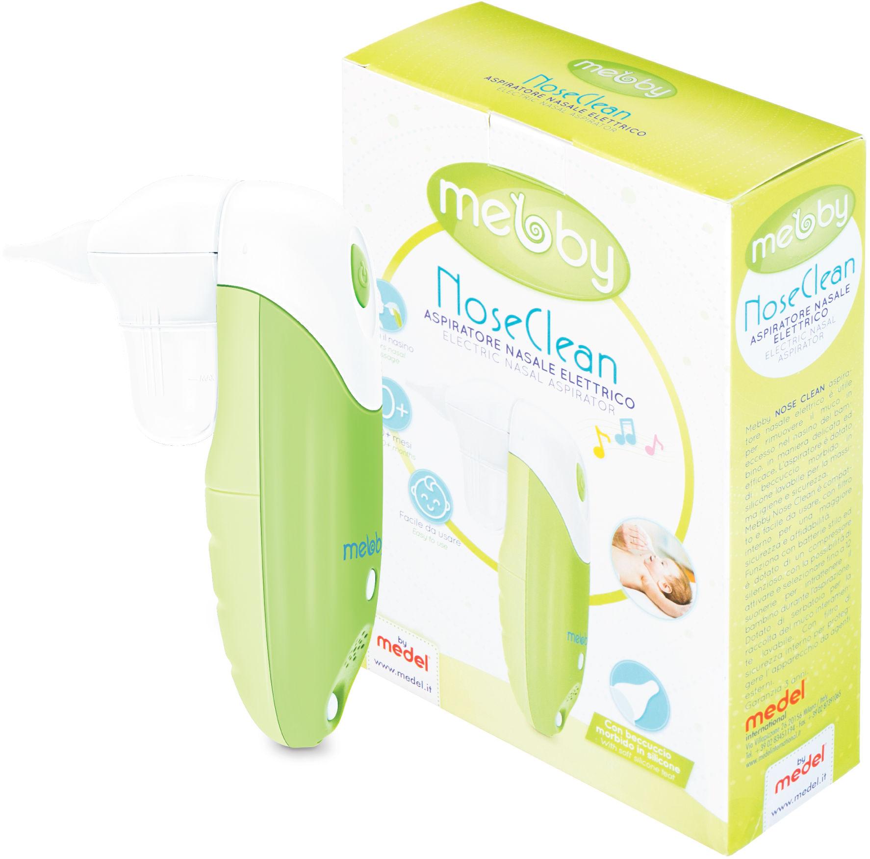 Mebby Nose Clean Aspirator 0 m+ z 3 letnią gwarancją