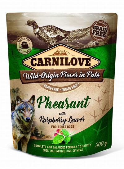 Carnilove DOG POUCH PHEASANT & RASPBERRY - 300G