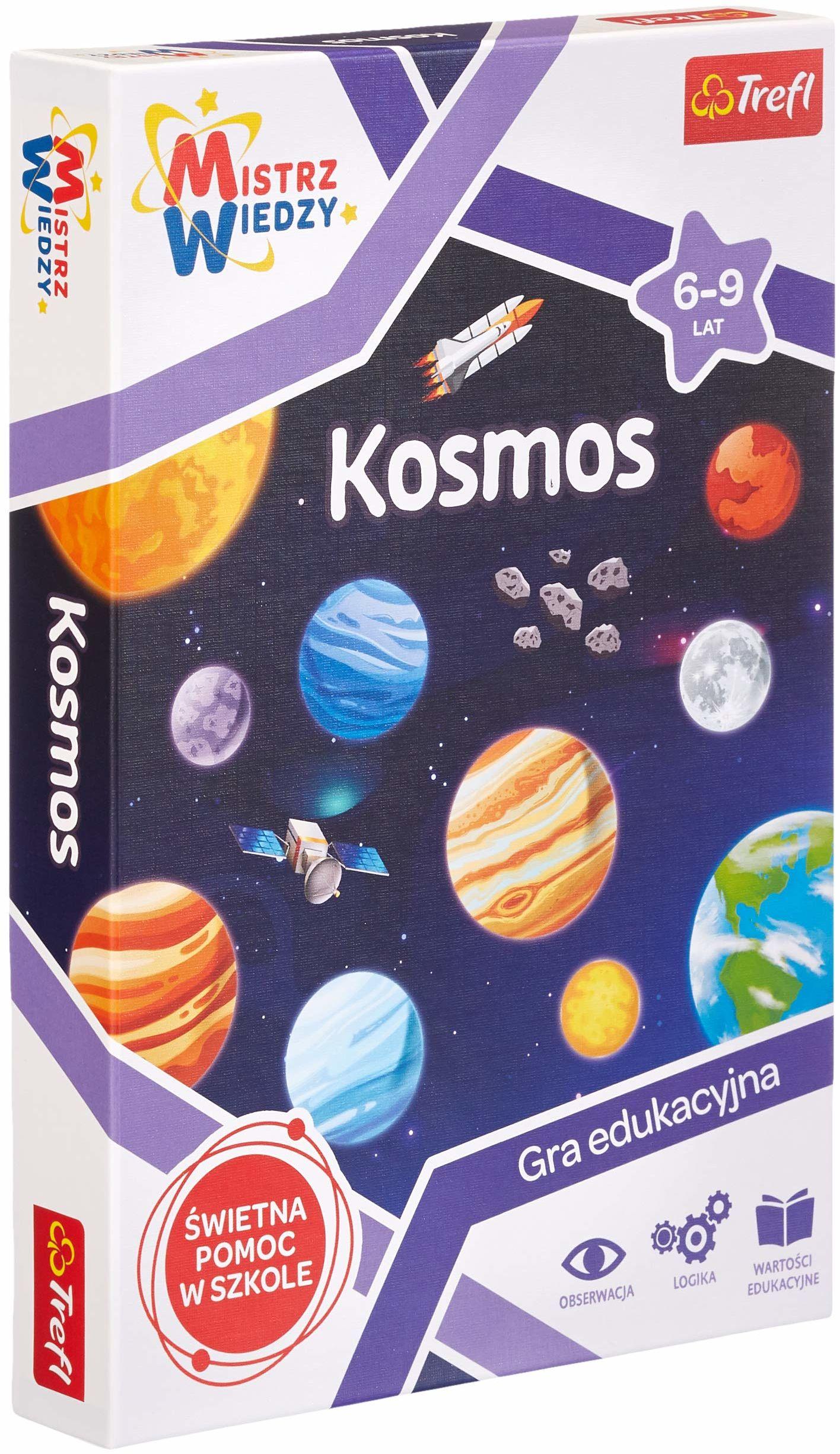 Trefl 01956 Gra, Kosmos, Mistrz Wiedzy 01956