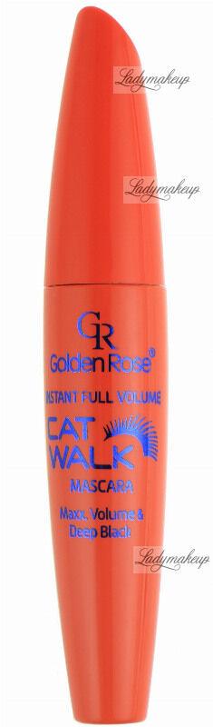 Golden Rose - CAT WALK MASCARA - Pogrubiający tusz do rzęs - M-GCW