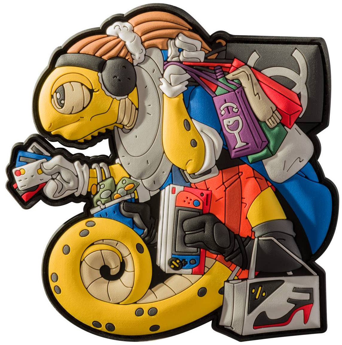 Naszywka Helikon Chameleon Black Friday Yellow (OD-CBF-RB-26) H