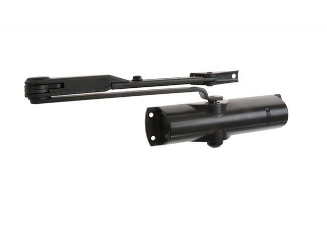 Samozamykacz GEZE TS 1000 z blokadą brązowy EN 2/3/4 (skrzydło do 60 kg,max.szer.1100 mm)