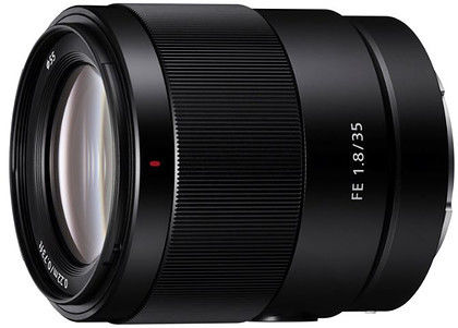 Sony FE 35mm f1.8 (SEL35F18F) Czarny