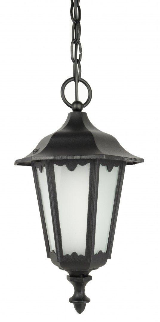 SU-MA Retro Midi K 1018/1/M lampa wisząca czarna E27 IP43