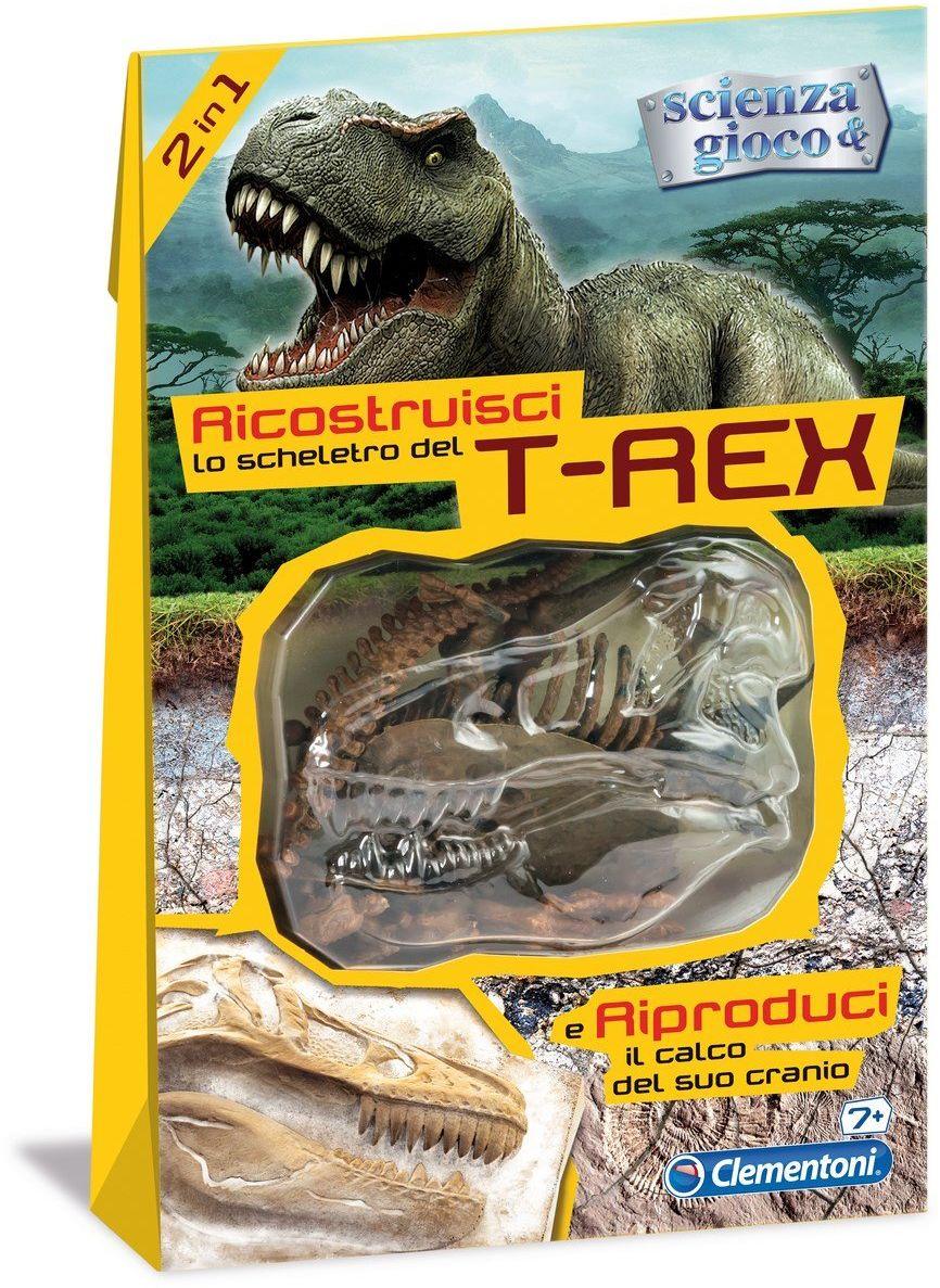 Clementoni  52099 skossile-t-rex-jeu naukowa