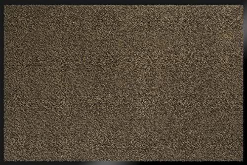 ID Matt 8012010 Mirande dywan wycieraczka włókno nylon/PCW gumowany brązowy 120 x 80 x 0,9 cm