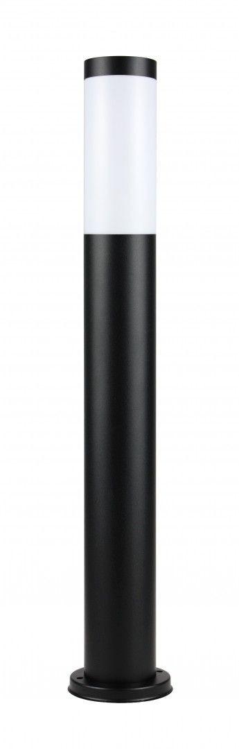 Lampa stojąca ogrodowa Inox Black ST 022-650 czarna IP44 - Su-ma // Rabaty w koszyku i darmowa dostawa od 299zł !
